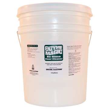Enzyme Magic No Rinse Floor Cleaner - 5 Gallon