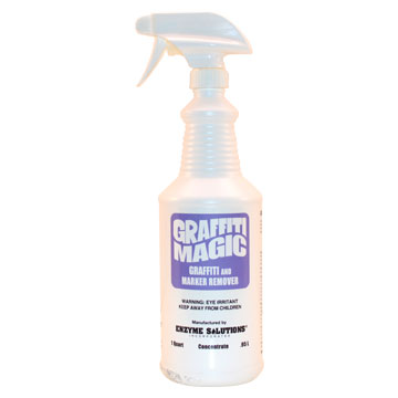 Graffiti Magic - 3 x 32 oz. Bottle w/ Spray Bottle
